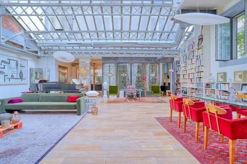 Vends loft 240m² - 2chambres +, verrière Eiffel spectaculaire - Paris 20ème