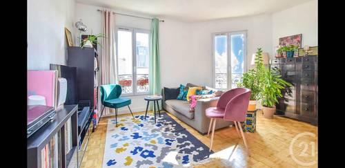 Vends appartement 3pièces - 62m² - Dernier étage - Clichy (92)