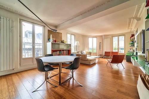 Vends 5pièces 135m² - Paris 2e - 5e étage ascenseur balcon filant