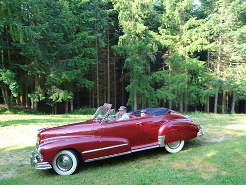 Vends Pontiac Silver Streak Torpédo convertible 1948