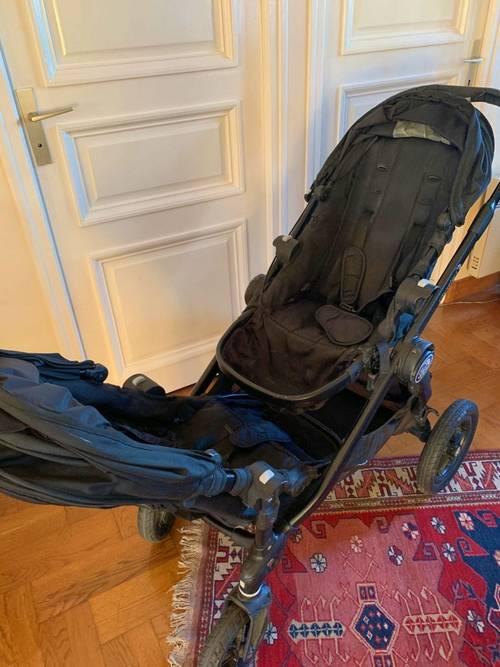 Vends poussette Baby jogger city select