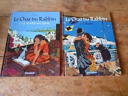 """Vends 2BD """"Le Chat du Rabbin """" (très bon état)"""