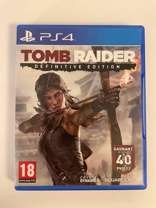 Vends jeu PS4Tomb Raider Definitive Édition