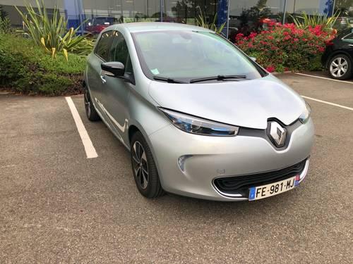 Vends Renault ZOE R110ZE40- 2019, 16000km