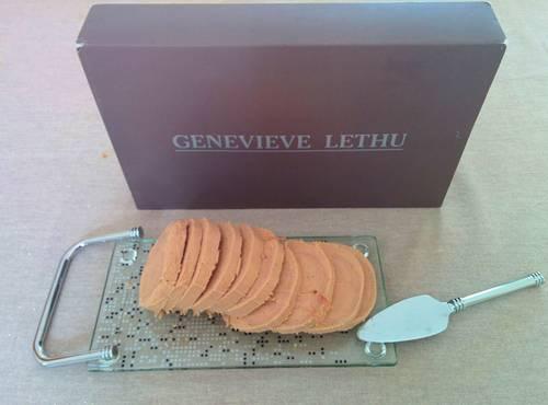 Vends service Foie gras + pelle + lyre Geneviève Lethu