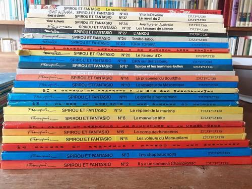 "Vends 25BD ""Spirou et Fantasio "" de Franquin"
