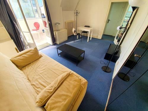 Vends studio 25m² + balcon/véranda de 6m² quartier Bécon - Asnières-sur-Seine (92)