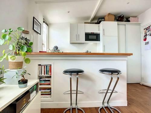 Vends appartement en dernier étage - Quartier Nation - 30m², Paris 20ème