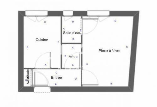 Vends studio à rénover - 22m², Asnières-sur-Seine (92)