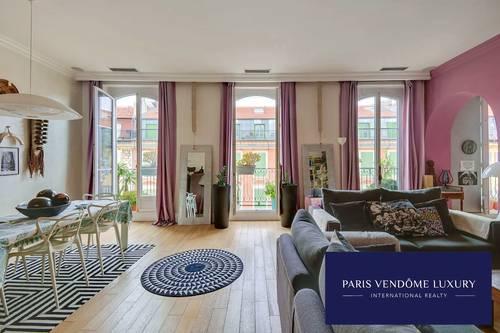 Vends superbe appartement familial 4chambres 154m² dernier étage - Nice (06)