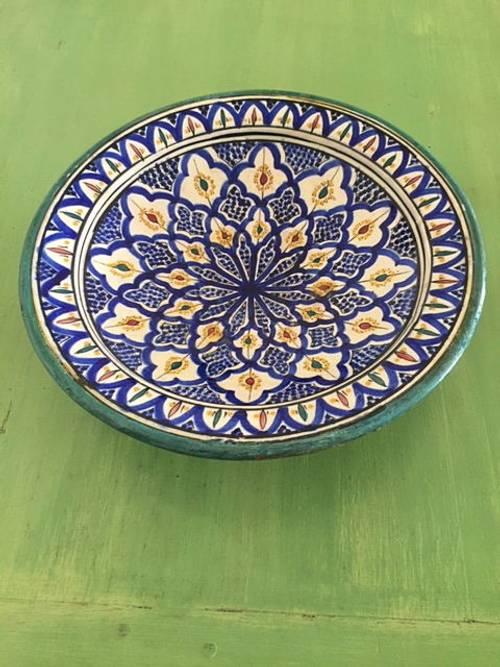 Vends superbe plat marocain
