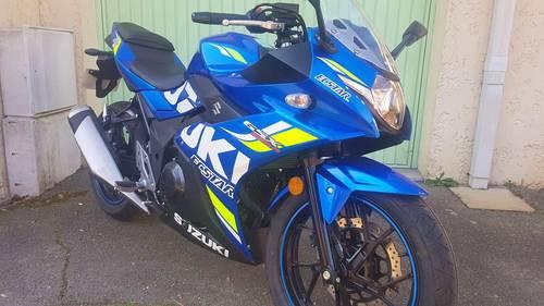 Vends moto Suzuki 250-GSXR - Année 2020- 348Km
