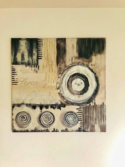 Vends tableau contemporain sur toile