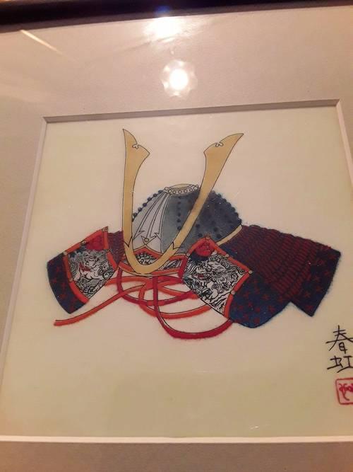 Vends tableau japonais
