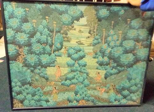 Je vends Tableau peinture naïve de Bali