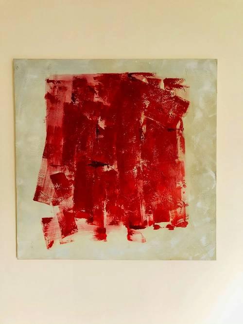 Vends tableau peinture sur toile, grand format