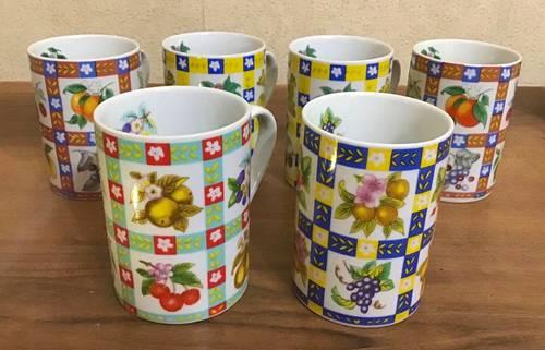 Vends 6tasses en porcelaine — Neuves