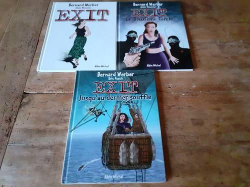 """Vends 3BD """"EXIT """" tomes 1, 2et 3(Très bon état!)"""