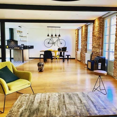 Vends Toulousaine rénovée Marengo-mediatheque 197m² - 5chambres, Toulouse (31)