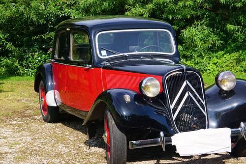 Vends Traction Citroën B11