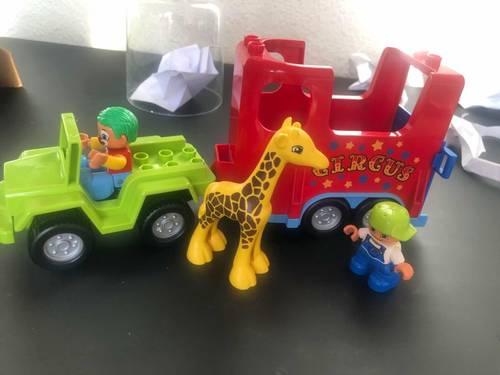 Vends Lego Transport du cirque