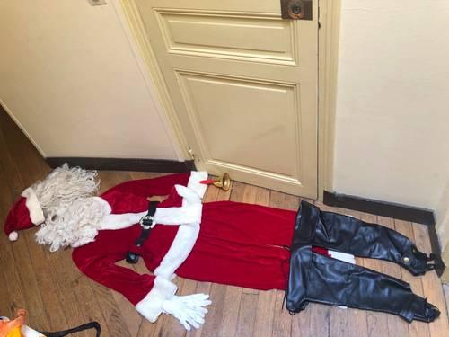 Vends véritable costume du père Noël - Taille L