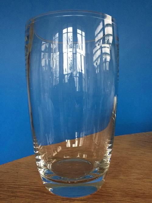 Vends vase en verre