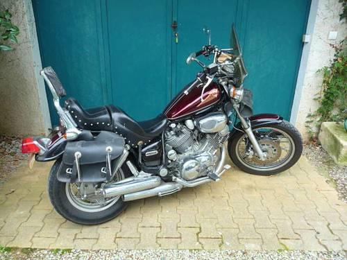 Vends moto Yamaha Virago 1100cc - 28612Km - 1997