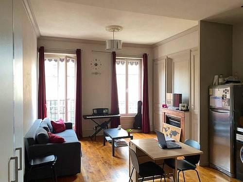 Vends appartement situé à Villeurbanne (69) limite Lyon 3ème/ Lyon 6ème - 1chambre, 42m²