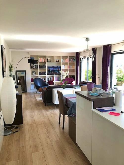 Vends appartement 100m² avec terrasse - 3chambres, Boulogne-Billancourt (92)