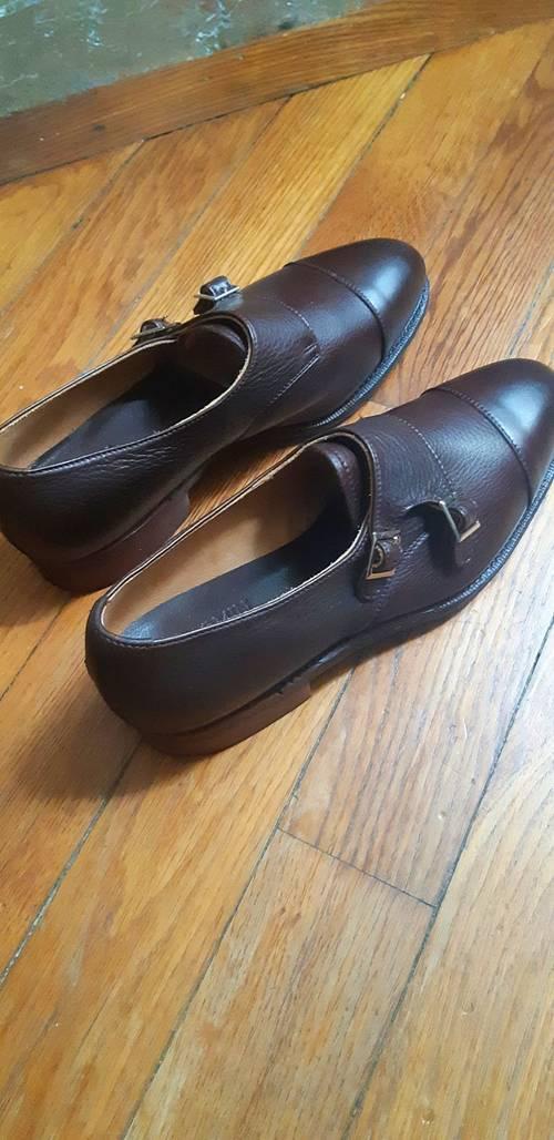 Vends chaussures boucles marron femme Meermin taille 38/39