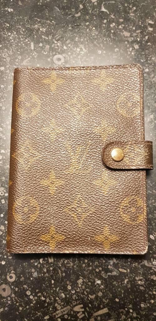 Véritable agenda Louis Vuitton