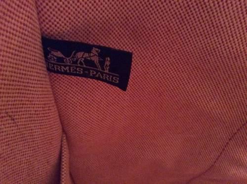 Vends véritable sac en toile Hermès