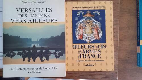Livre: Versailles des jardins vers ailleurs