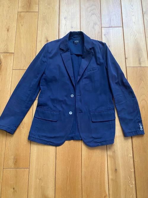Veste APC Bleue Coton M