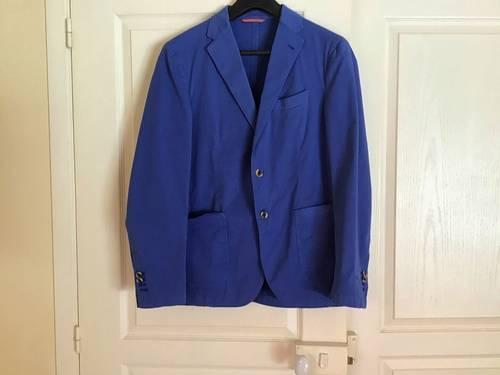 Vends Veste bleu gauloise coton taille 50neuve
