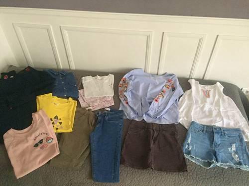 Lot vêtements fille - Taille 12ans
