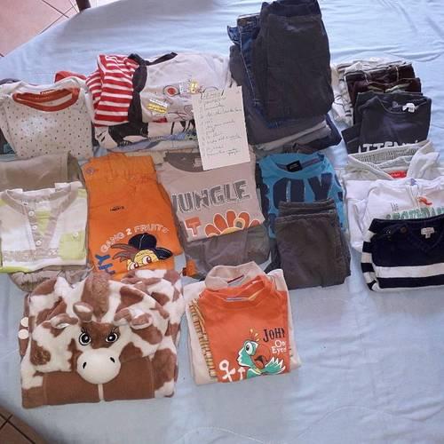 Lot de vêtements garçon 18mois