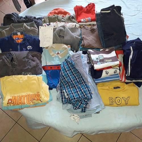 Lot de vêtements garçon 24mois