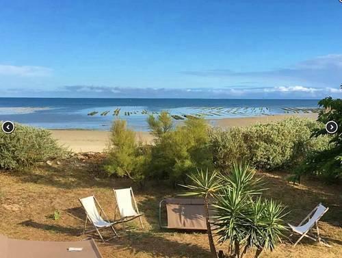 Loue villa bord de mer, accès privé à la plage, vue magique - 9couchages - Ars-en-Ré (17)