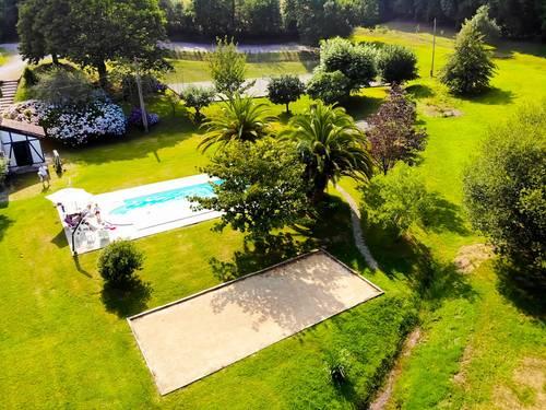 Loue Villa arboré au bord de l'eau (Tennis+Piscine) 9couchages Bayonne