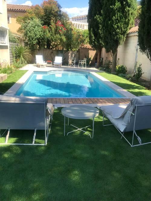 Loue Villa d'architecte avec piscine centre Aix en Provence (13) - 6couchages
