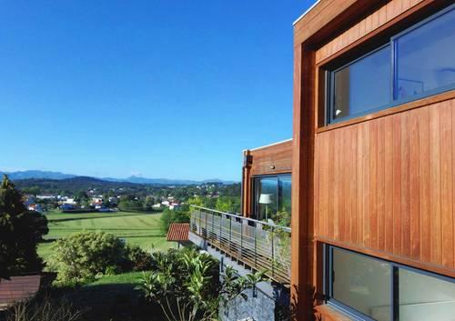 Loue villa Côte Basque - Anglet (64), vue unique sur montagne - 6couchages