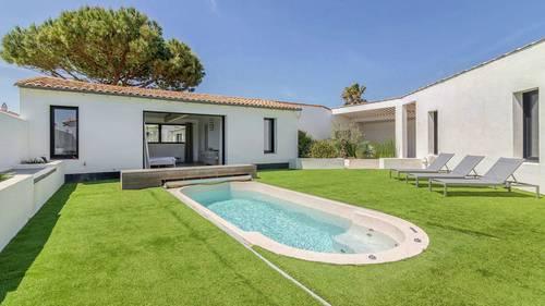 Loue villa à Ars en Ré 12couchages, spa, tennis