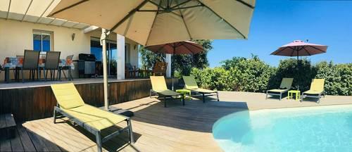 Loue villa de charme Corse du sud avec piscine privée - 8couchages -1km de la mer - Zonza (20)
