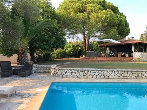 Loue villa de charme sur les hauteurs d'Antibes (06) - 8couchages