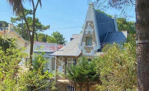 Loue Villa de charme avec rooftop vue mer - 5chambres, 6couchages - La Baule-Escoublac (44)