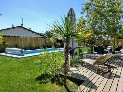 Loue Villa Lilihuni, 12couchages, 5chambres, piscine chauffée, proche plages et golf - Seignosse (40)