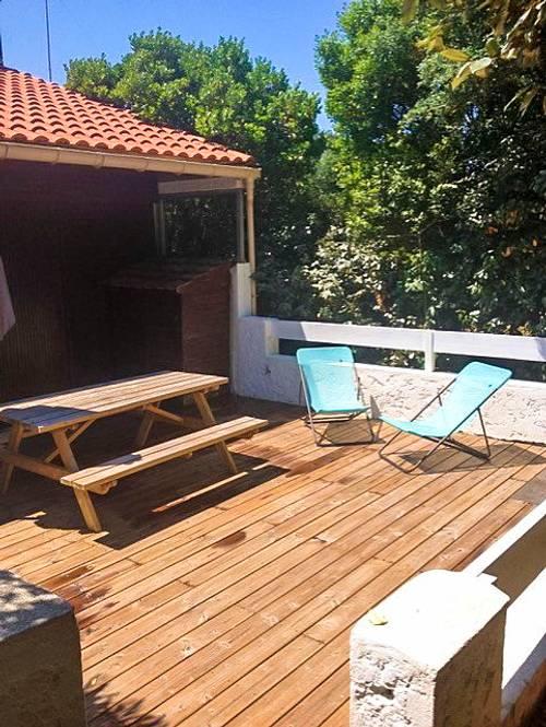 Loue Villa patio, plage Les Bourdaines - 4couchages - Seignosse (40)