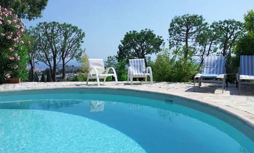 Loue villa à Nice (06) - piscine - 8couchages